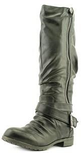 Material Girl Womens Lennox Closed Toe Mid-calf Fashion Boots Fashion Boots.