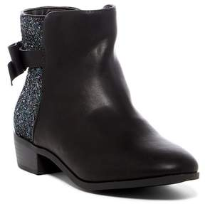 Mia Samantha Glitter Back Bow Boot (Little Kid & Big Kid)