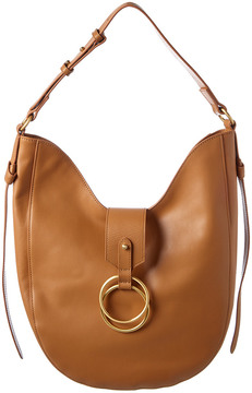 Badgley Mischka Campaign Leather Hobo