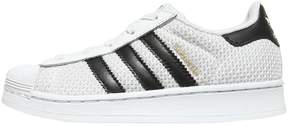 adidas Superstar Canvas & Faux Leather Sneakers