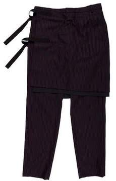 Dries Van Noten 2015 Bondage Skirt Pants