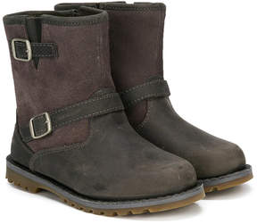 UGG buckle strap ankle boots