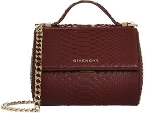 Givenchy Mini Pandora Box Python Bag