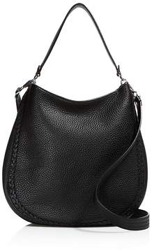 Rebecca Minkoff Unlined Whipstitch Convertible Hobo - ALMOND/GOLD - STYLE