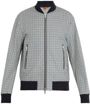 Barena VENEZIA Checked cotton bomber jacket