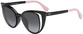Safilo USA Fendi 0136 Cat Eye Sunglasses