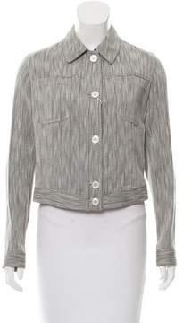 Agnona Woven Lightweight Jacket w/ Tags
