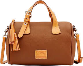 Dooney & Bourke Patterson Leather Kendra Satchel - BARK - STYLE