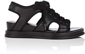 Opening Ceremony WOMEN'S IDHA LEATHER WEDGE SANDALS