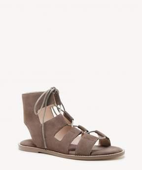 Sole Society Cady lace-up flat sandal