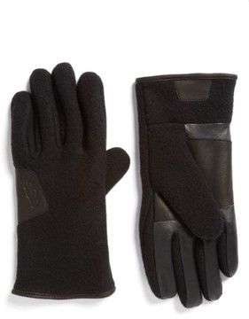 UGG Men's Wool Blend Tech Gloves