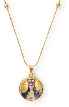 Alex and Ani Our Lady as Queen of Heaven and Earth Expandable Necklace
