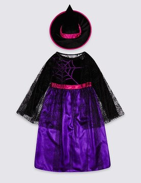 Marks and Spencer Kids' Witch Fancy Dress Up