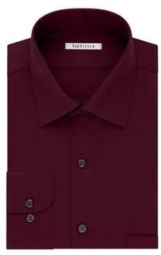Van Heusen Regular-Fit Lux Sateen Dress Shirt