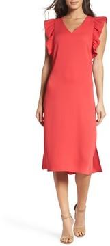 Chelsea28 Women's Ruffle Midi Dress