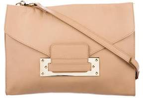 Sophie Hulme Leather Envelope Clutch