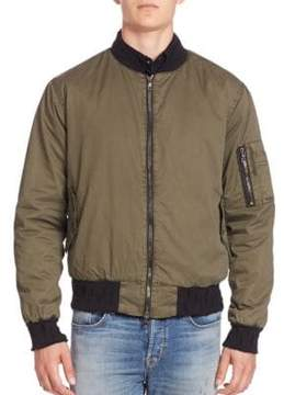 Hudson Jet Puffer Long Sleeve Bomber Jacket