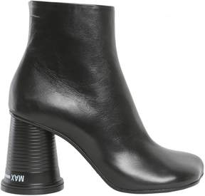 MM6 MAISON MARGIELA Ankle Boots With Plastic Cup Shaped Heel