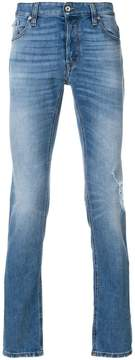 Just Cavalli stonewashed straight leg jeans