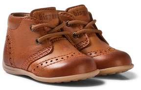 Bisgaard Cognac Prewalker Shoes