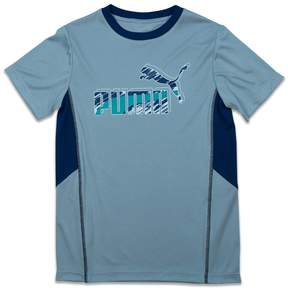 Puma Boys 4-7 Abstract Logo Tee