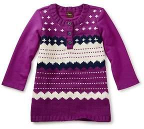 Tea Collection Fair Isle Sweater Dress (Baby Girls)