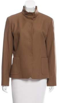 Cinzia Rocca Wool Long Sleeve Jacket
