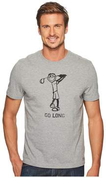 Life is Good Go Long Golf Crusher Tee
