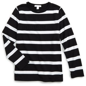 Burberry Boy's Graham Stripe T-Shirt