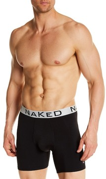 Naked Silver Boxer Brief
