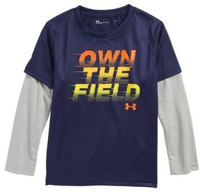 Under Armour Toddler Boy's Own The Field Layered T-Shirt