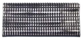 Alaia Metallic Long Clutch