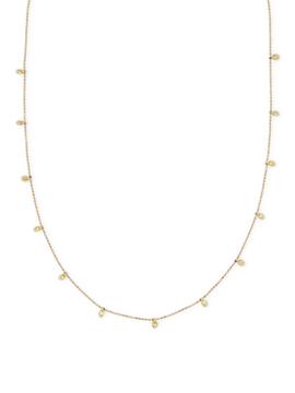 Artisan Women's Yelow Sapphire Necklace