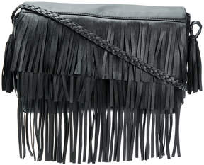 RED Valentino layered fringe shoulder bag