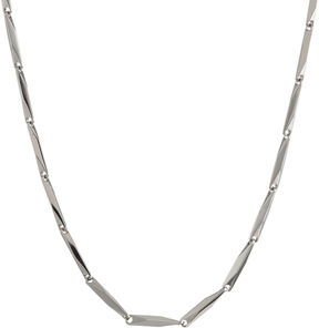 JCPenney FINE JEWELRY Mens Stainless Steel 22 2mm Link Chain