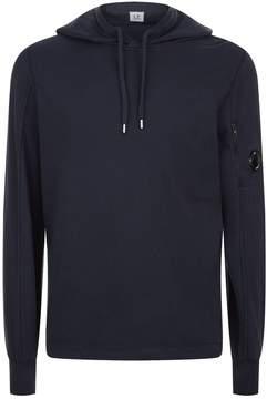 C.P. Company Cotton Arm Logo Zip Up Hoodie