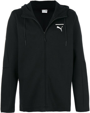 Puma zipped hoodie