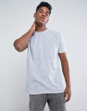 Antioch Oversized Velour Pocket T-Shirt