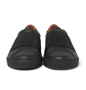Givenchy Urban Street Elasticated-Strap Leather Sneakers