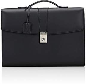 Barneys New York Men's Push-Lock Briefcase