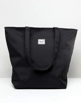 Herschel Mica Black Shopper Tote Bag