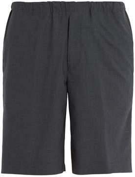 Acne Studios Ari elasticated-waist stretch-wool shorts