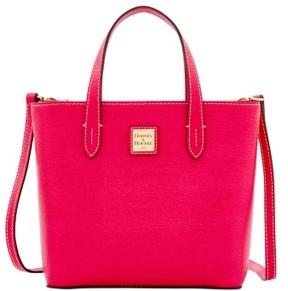 Dooney & Bourke Saffiano Mini Waverly Top Handle Bag - HOT PINK - STYLE