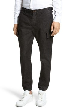 French Connection Men's Brushed Stretch Twill Pants