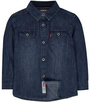 Levi's Baby Boy Barstow Denim Western Shirt