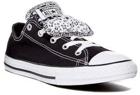 Converse Chuck Taylor All Star Double Tongue Oxford Sneaker (Little Kid & Big Kid)