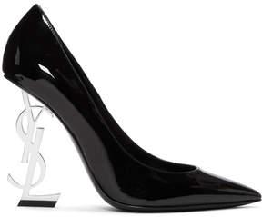 Saint Laurent Black Opyum Heels