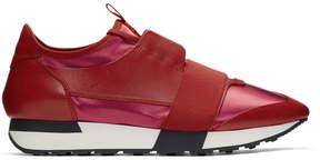 Balenciaga Red Race Sneakers