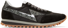 Marc Jacobs Black Lightning Sneakers