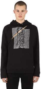 Raf Simons Joy Division Two Piece Cotton Sweatshirt